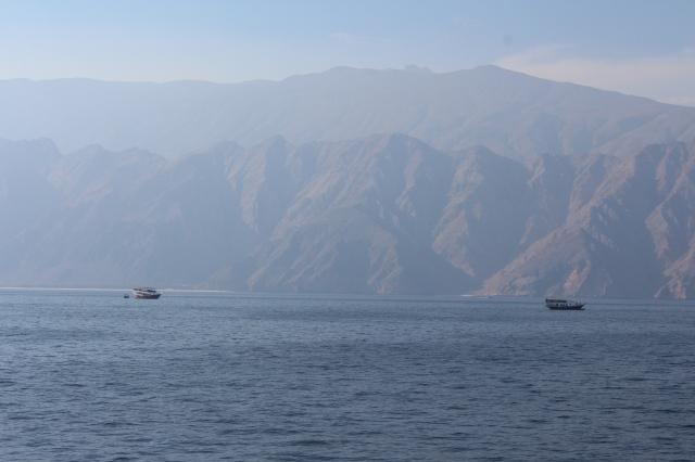 Cruising in Oman