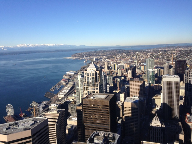 View of Seattle from Columbia Center