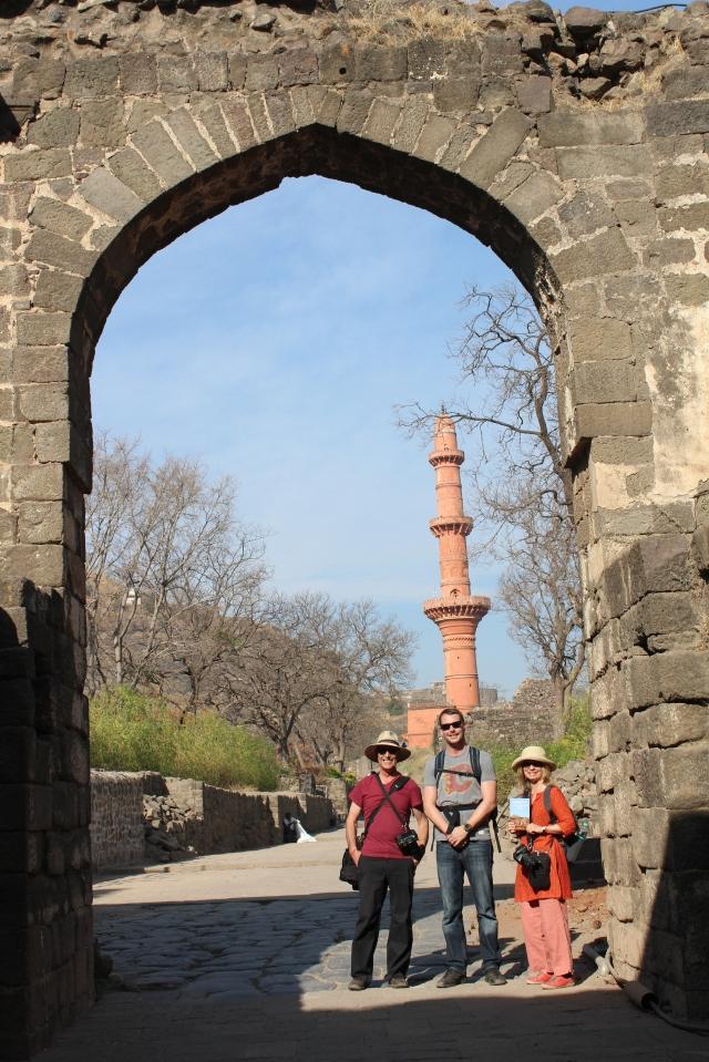 At the gates of Daulatabad