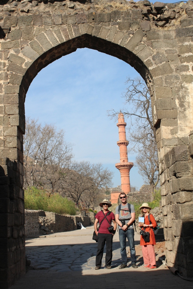 At the gates of Daulatabad
