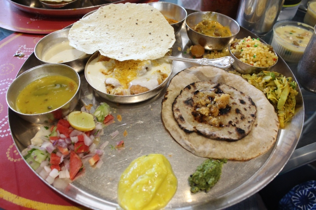 Thali meal at That Bhaat