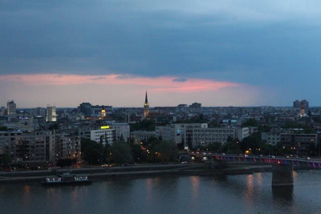 Novi Sad sunset