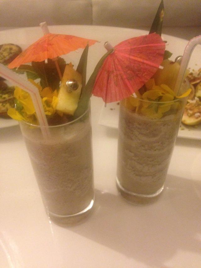 Tiki Time Mocktail