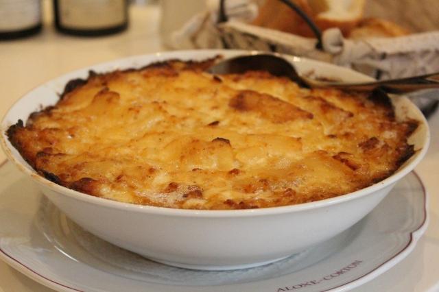 Potatoes Gratin at Comte Senard