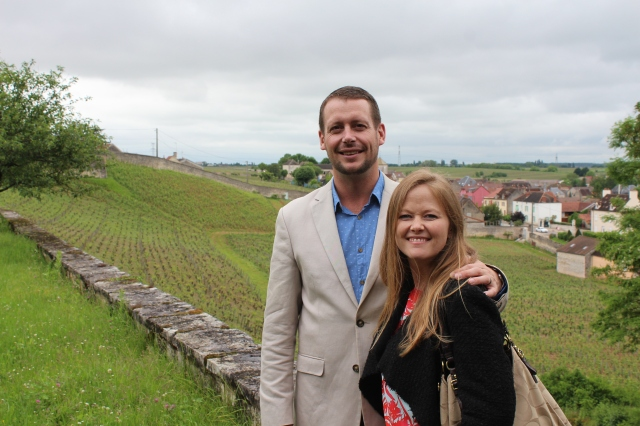 Our last visit in the Burgundy vineyards