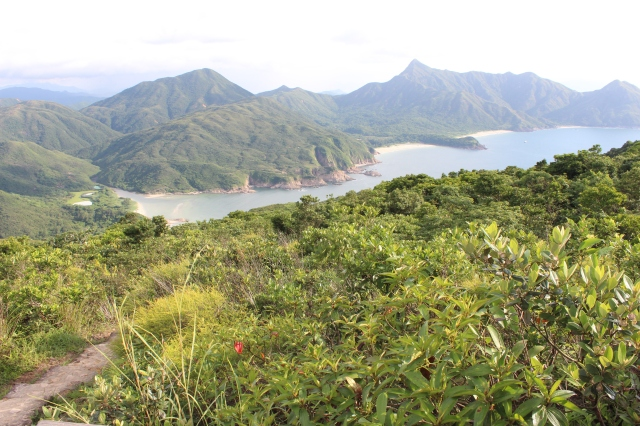 Looking north to Sai Wan and Ham Tin