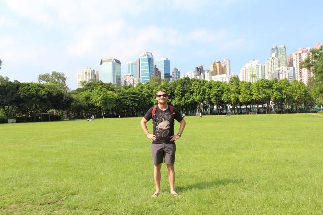 Victoria Park in Wan Chai