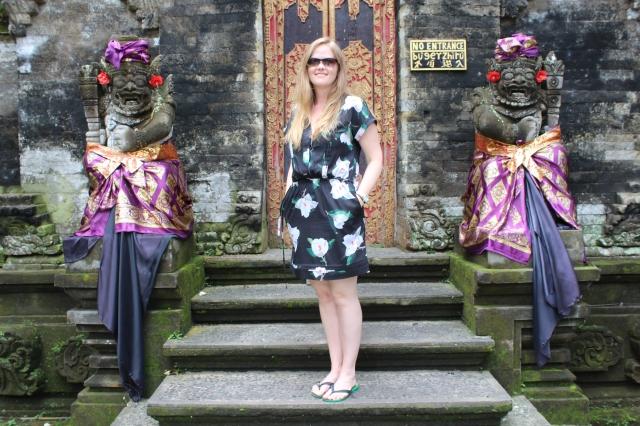 Bec at Puri Saren in Ubud