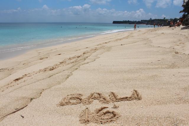 Bali 2016 on Bingin Beach