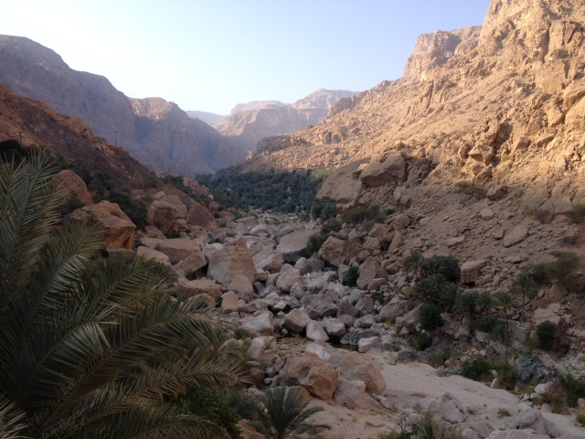 Morning in Wadi Shab