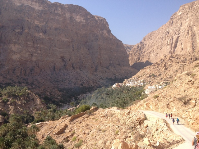 Last village up the wadi