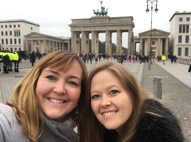 Selfie at Brandenburg Gate