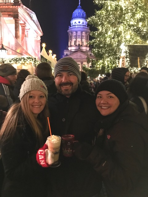Bec, Spence & Jenn at Gendarmenmarkt