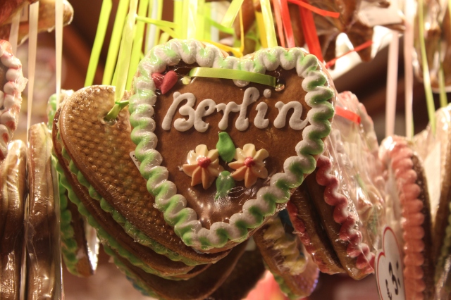 Berlin gingerbread cookie