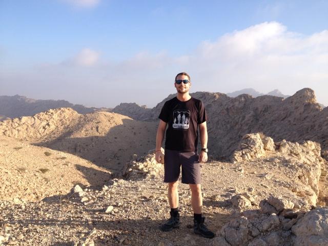 Summit of Jebel Qatar