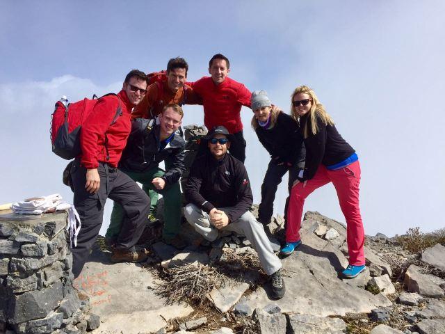 Dan with Team Bahrain