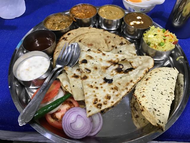 Thali dinner