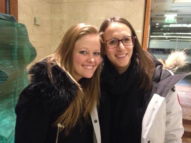 Visit with Debbi in London