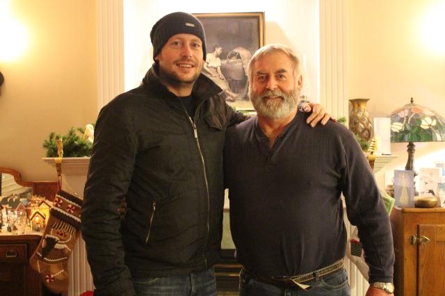 Dan and Pa Erickson
